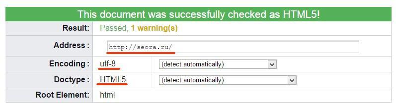 Валидация сайта или правильный HTML